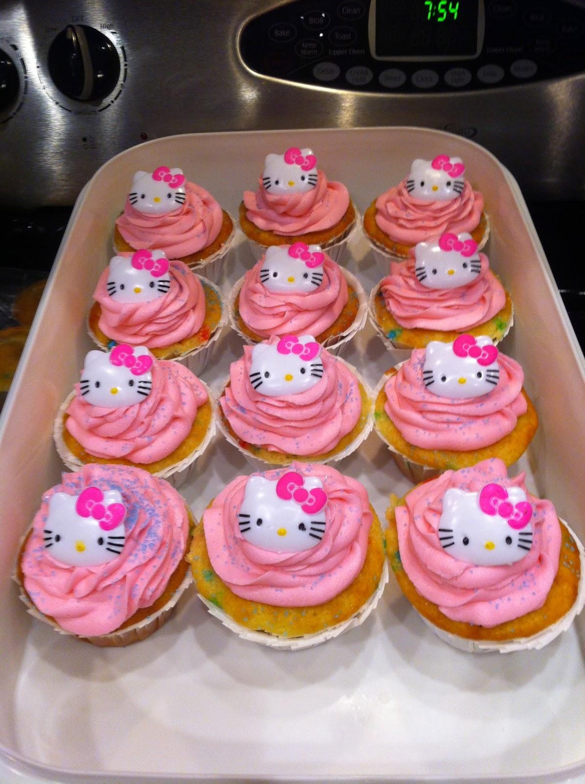 Share'n Da Sugar: Chloe's 8th Birthday! Hello Kitty!