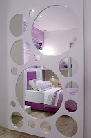 DORMITORIO LILA PARA NIA via www.dormitorios.blogspot.com