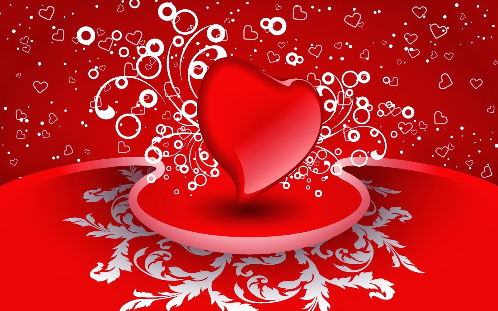 Valentines Day Heart Shaped Full Hd Wallpapers For 2014