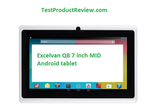 Excelvan Q8 7 inch Allwinner Android tablet