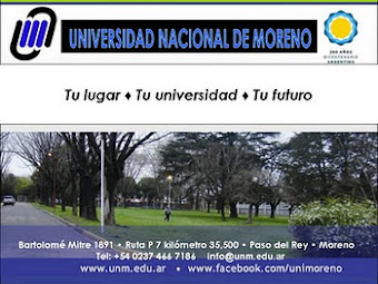 UNIVERSIDAD NACIONAL DE MORENO