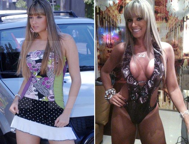 Várias famosas brasileiras que passaram de corpos magros para corpos ...