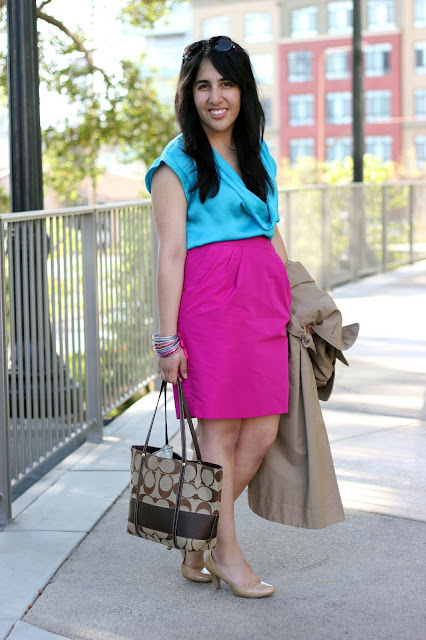 Color Block Outfit