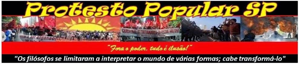PROTESTO POPULAR !