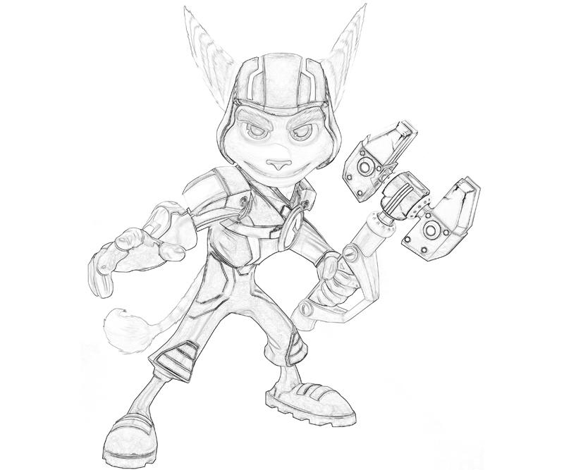 Ratchet And Clank Coloring Pages Coloring Pages Ratchet And Clank Coloring Pages