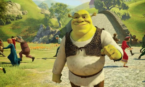 Download Shrek 2 (2004) Hindi-English 480p 300MB