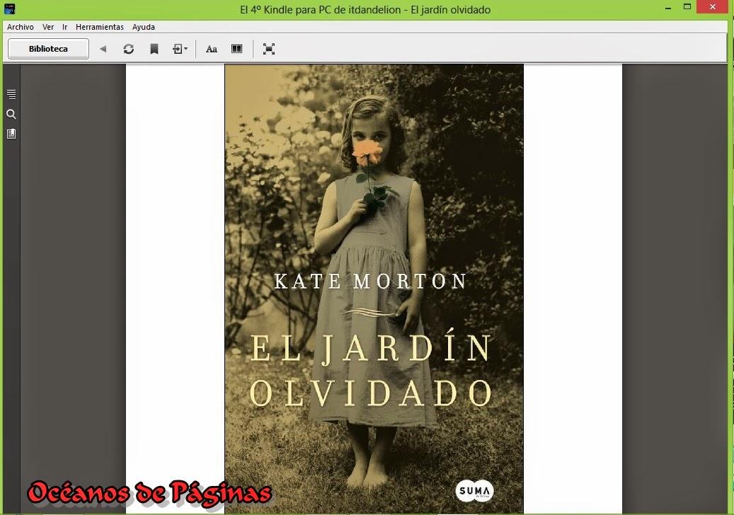 Oc anos de p ginas reto 30 fotos de libros d a 2 un for Libro jardin olvidado