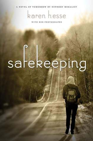 Safekeeping by Karen Hesse is a fabulous realistic fiction/dystopian type of book told from a survival story.  I love how strong Radley, a teenage girl, is and how she overcomes more than she could imagine.  Teachers in Junior High/Middle school could easily use this as a read aloud.  5 out of 5 stars book for this review. Alohamora Open a Book http://alohamoraopenabook.blogspot.com/