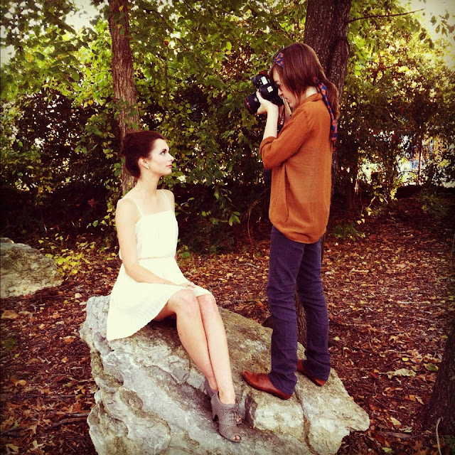 Mallory Berry photography, a style of your own blog, behind scenes shoot