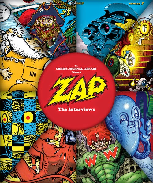 Fantagraphics Book's Zap: The Interviews