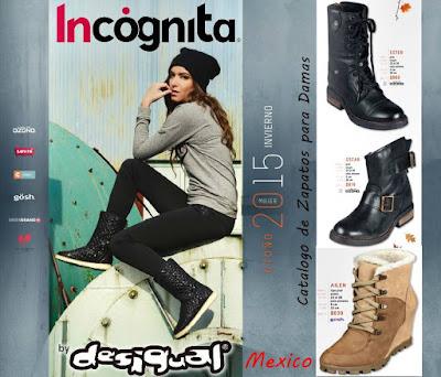Catalogo Desigual Calzado Mujer OI-2015
