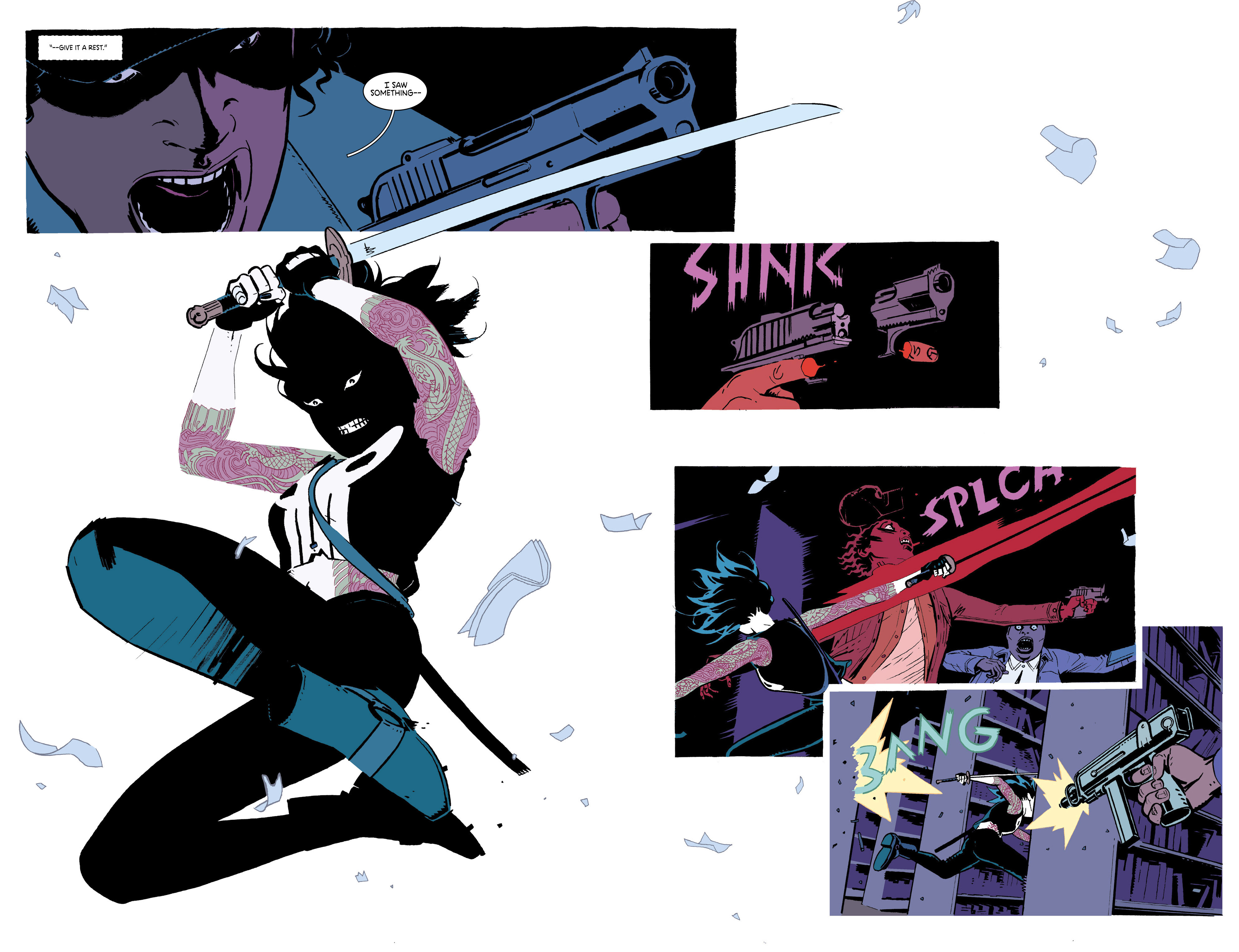Read online Deadly Class comic -  Issue #18 - 15