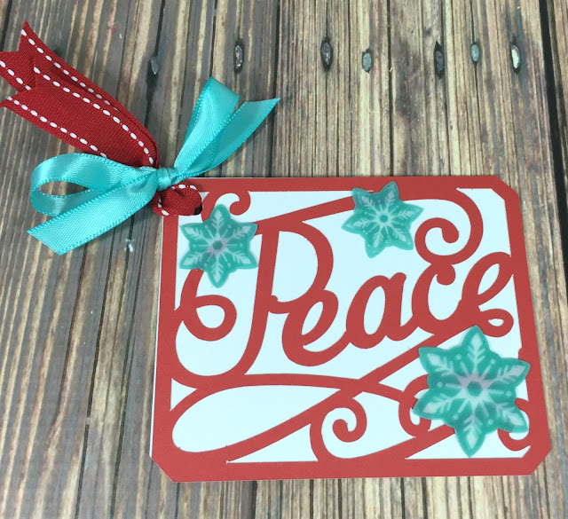 Cricut Artistry Christmas Gift tags volume one