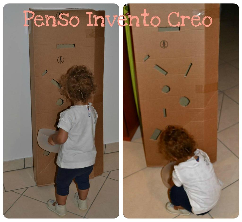 Estremamente 3 Giochi da fare in casa per bambini da 0 a 2 anni - Penso Invento  KR98