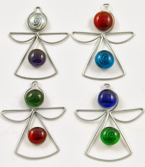 How to Recycle: Recycled Christmas Angel Ornaments