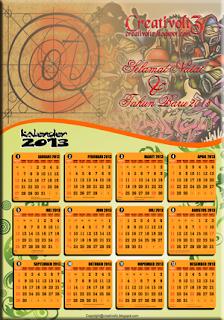 Contoh Kalender 2013 (cdr File)