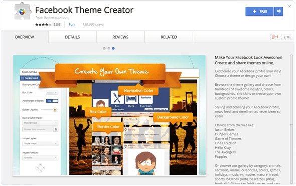 Facebook-theme-creator-chrome-extension