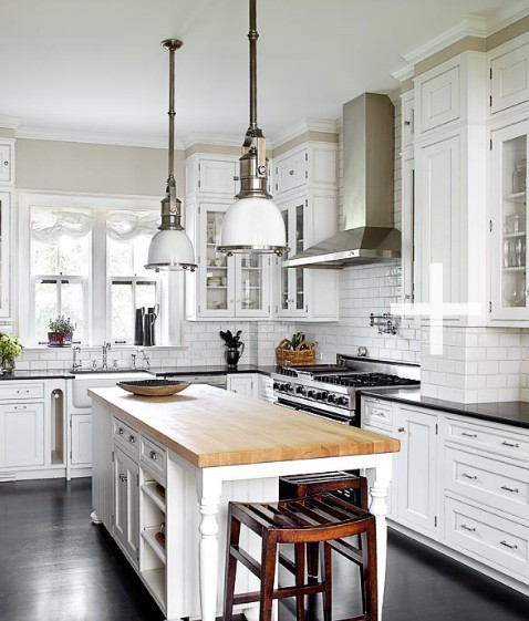 A Home In The Making: {inspired} Lovely Kitchens