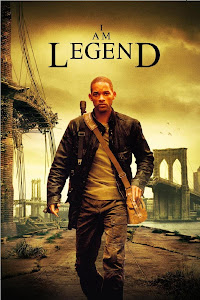 Poster Of I Am Legend (2007) In Hindi English Dual Audio 300MB Compressed Small Size Pc Movie Free Download Only At Downloadingzoo.Com