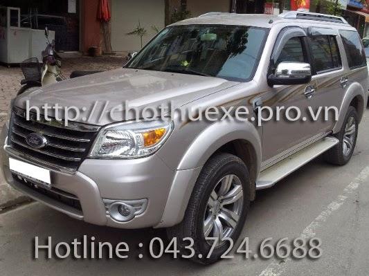 Cho thuê xe ô tô 7 chỗ theo tháng dài hạn tại Hà Nội 1