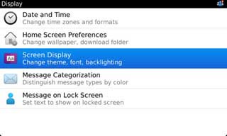 Cara Ganti Tema BlackBerry untuk BlackBerry OS 6, OS 7 ke atas