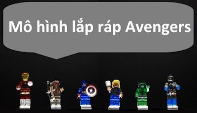 Lego giả mô hình siêu anh hùng