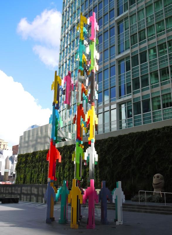 Human Structures sculptures Jonathan Borofsky