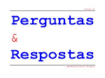 Perguntas &amp; Respostas, Volume 2
