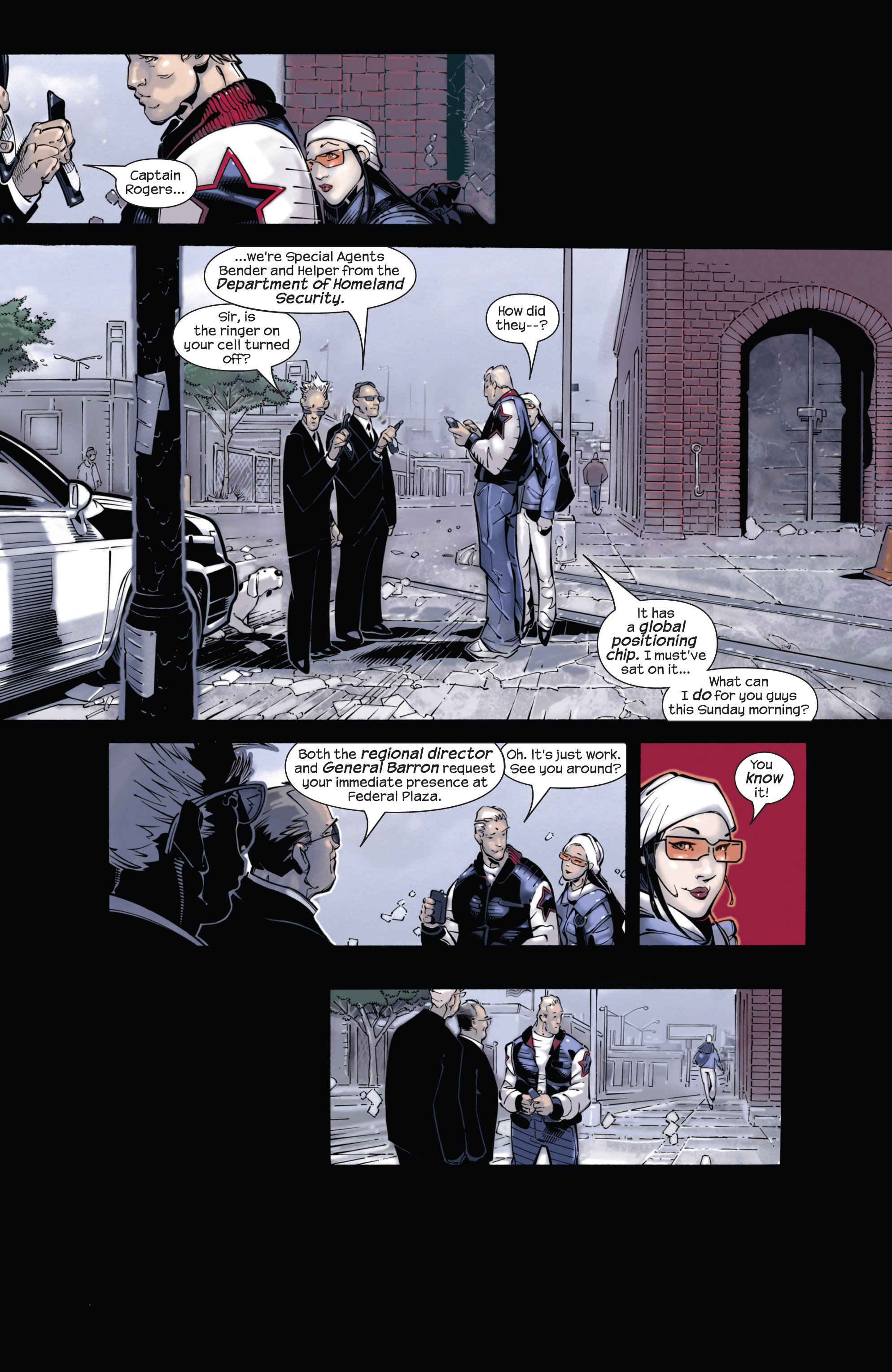 Captain America (2002) Issue #21 #22 - English 15