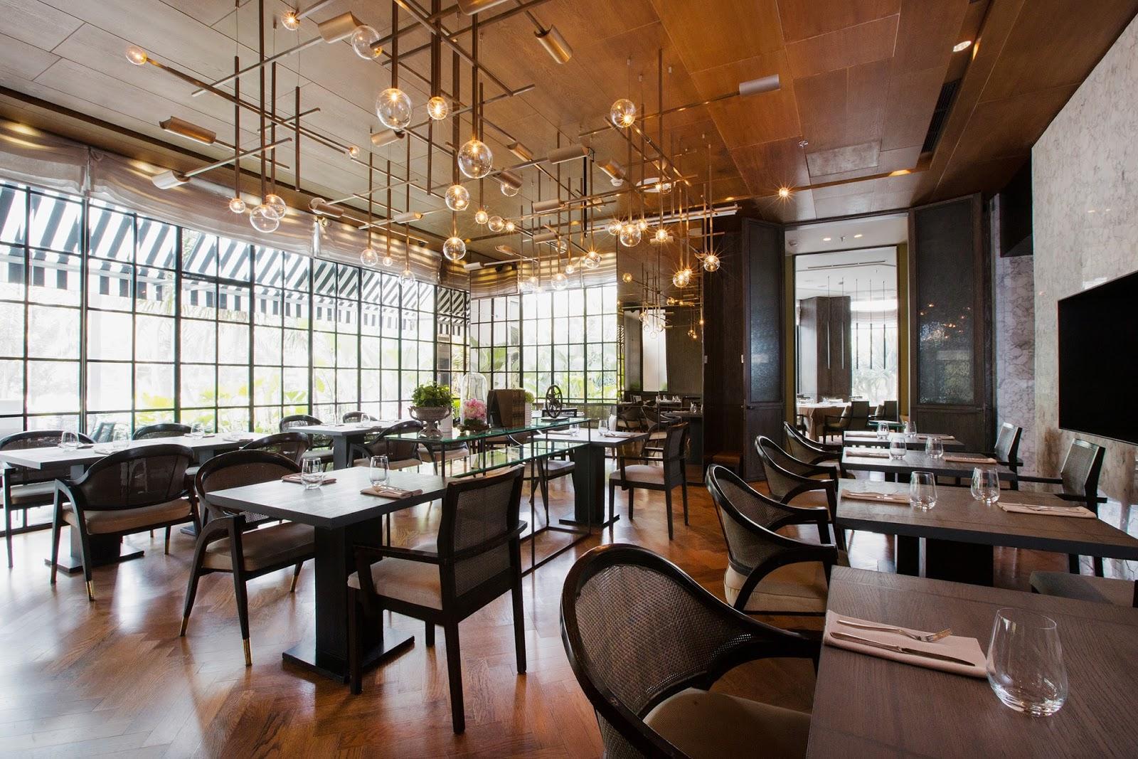 Pilihan pusat perdagangan dunia restoran