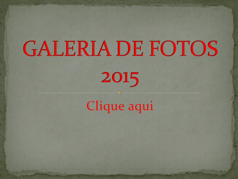 GALERIA DE FOTOS 2015