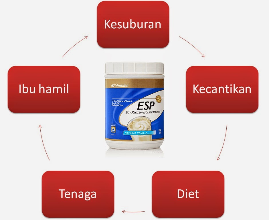 Fungsi Energizing Soy Protein (ESP)