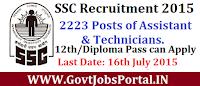 Bihar SSC Recruitment 2015