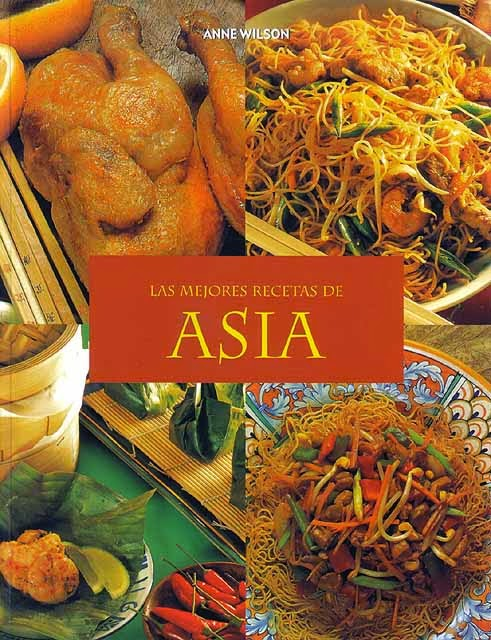 Libro Las mejores recetas de Asia