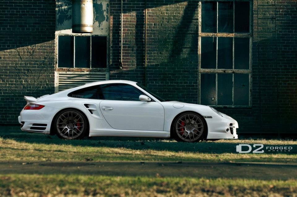 Extreme Modified Cars Porsche 997 Turbo White