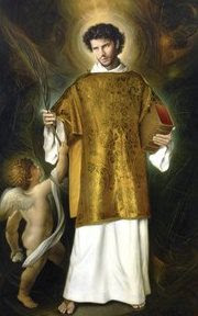 St. Stephen, my patron from birth and patron of this blog