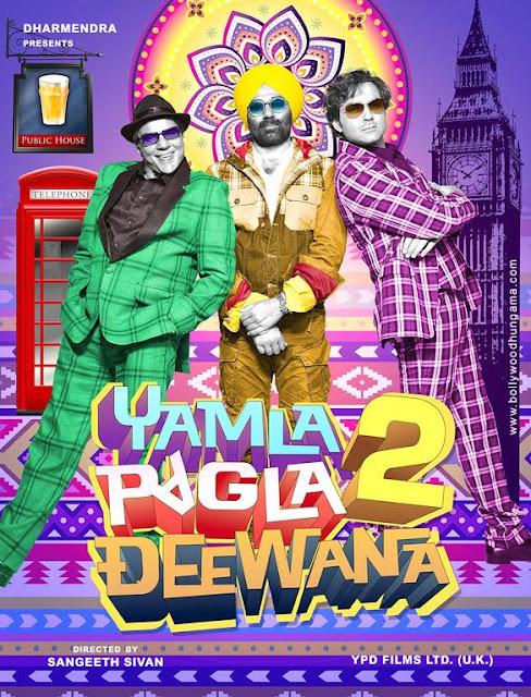 Yamla Pagla Deewana 2 First Look Poster
