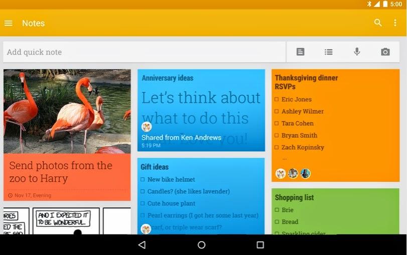 Aplicaciones gratis – Aplicación que permite organizar la información personal para teléfonos con sistema Android