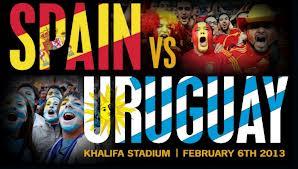 Prediksi Pertandingan Spanyol Vs Uruguay 17 Juni 2013 Piala Konfederasi