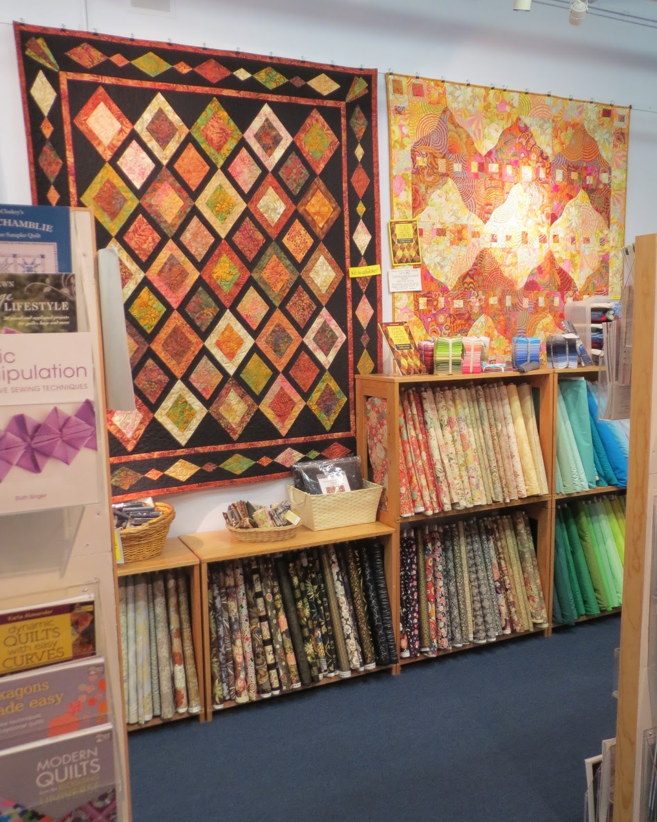 Quilting on Main Street: New York City Quilt Shop - The City Quilter : new york city quilt - Adamdwight.com