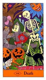 Death Halloween Tarot