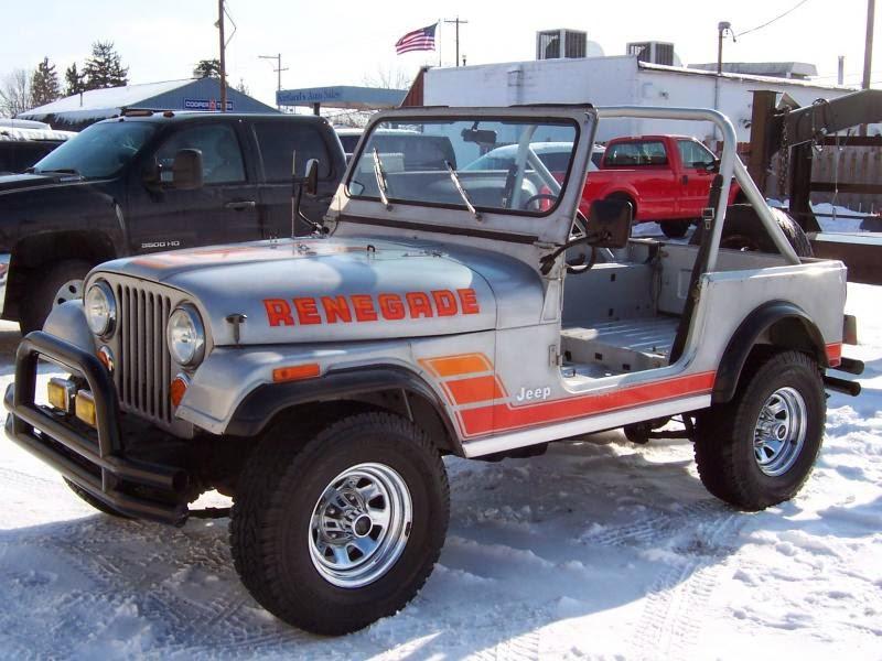 Modifikasi Mobil Jeep CJ-7 Tahun 84