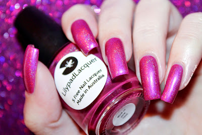 Swatch of Wink Of Pink from Lilypad Lacquer