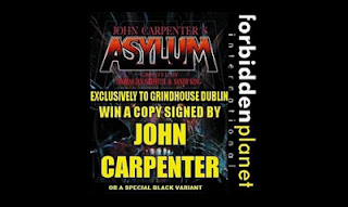 john carpenters asylum comic book