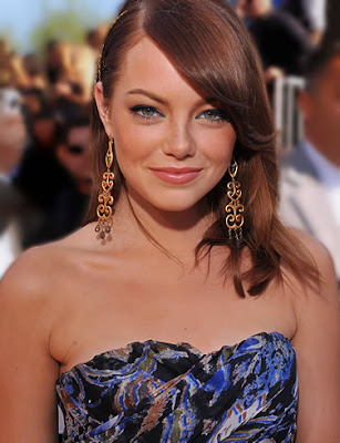 image of Emma Stone hairstyle new