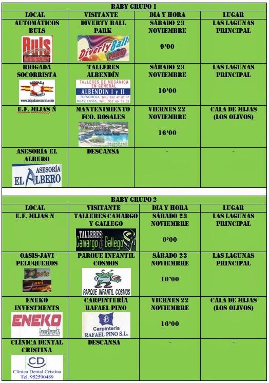 2 jornada liga municipal for Liga municipal marca