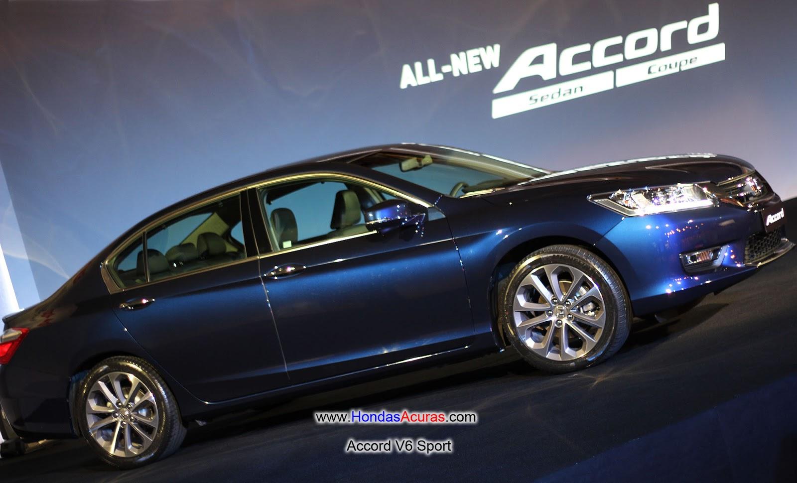 2016 Honda Accord Sedan Accord sedan v6 sport launched