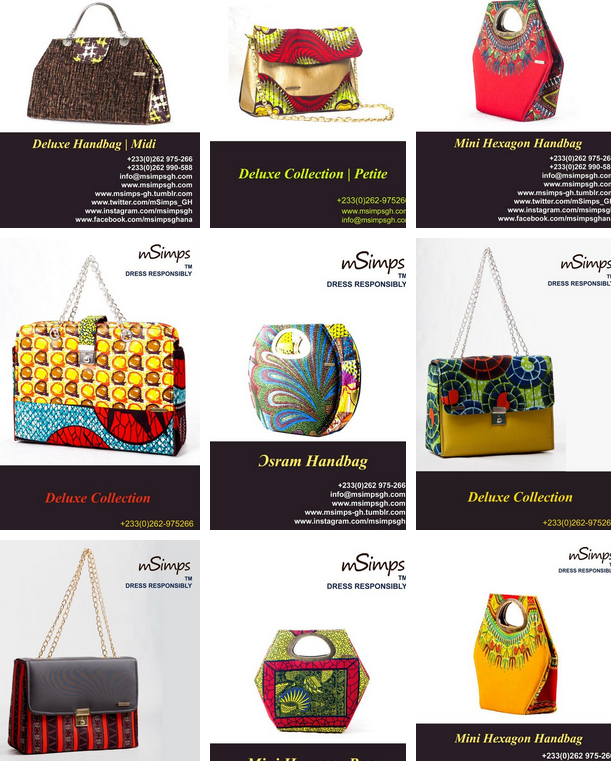 African made bags