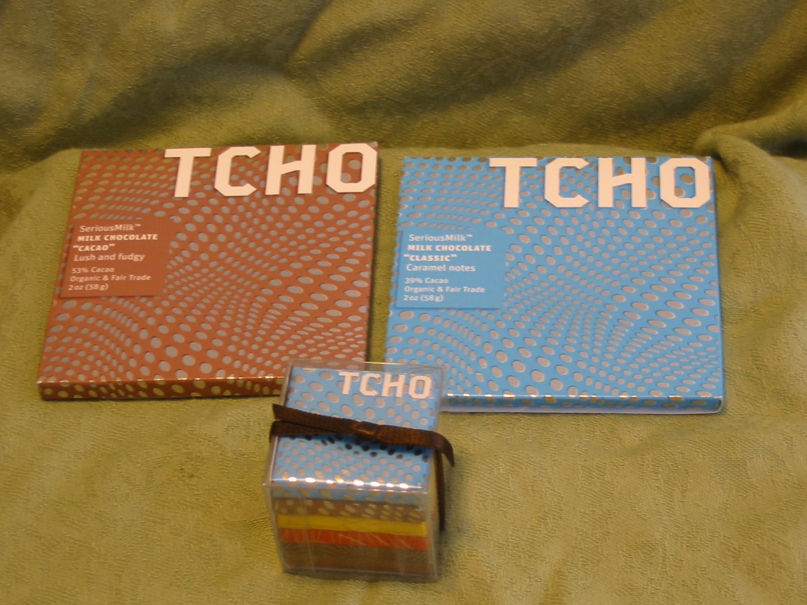 The Chocolate Cult: TCHO for National Milk Chocolate Day