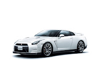 2012 MY Nissan GT-R official press media photo image picture high resolution original source facelift revised new generation enhanced restyled special exclusive edition 530hp Brilliant white pearl